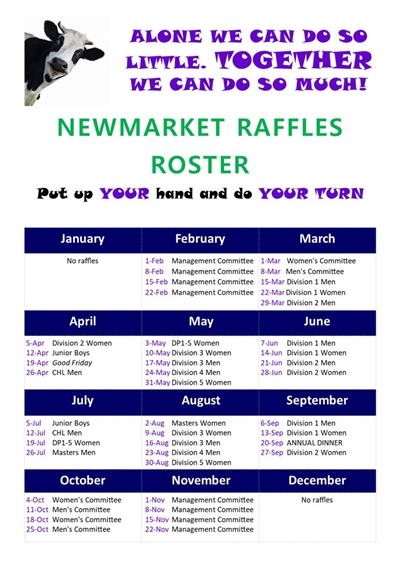 2019  Newmarket  Raffles V2