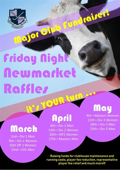 Newmarket  Raffles  Mar -  May updated