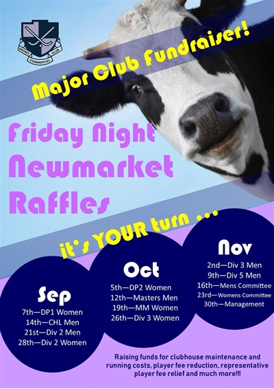 Newmarket  Raffles  Sep- Nov 18